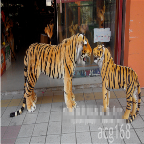 125cm*60cm Giant Big Ride Tiger Simulation likelife  Plush Soft toys Kids Gifts