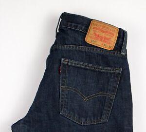 Levi's Strauss & Co Herren 514 Slim Gerades Bein Jeans Größe W32 L32 AMZ401