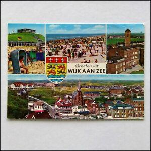 Groeten-uit-Wijk-Aan-Zee-4-Views-1978-Postcard-P399