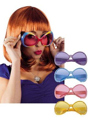 FäHig 70s Brille Sugarbabe Mit Strass Accessoire Kostüm Karneval Fasching Neueste Mode