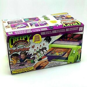 Vintage-2001-ToyMax-Creepy-Crawlers-Molding-Oven-Kit-Complete-in-the-Box