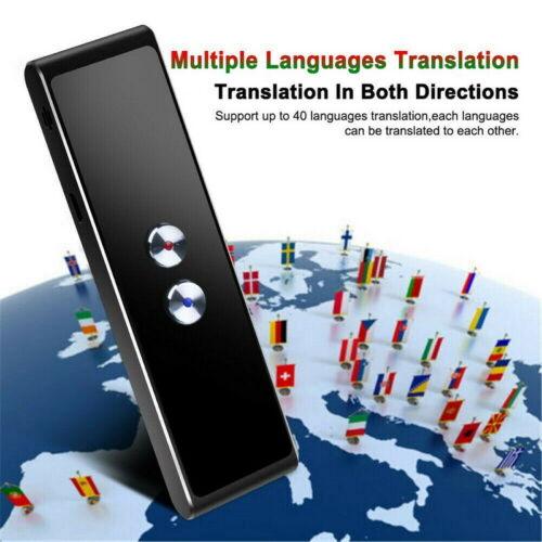 Translaty MUAMA Enence Smart Instant Real Time Voice Languages Translator New ✈️