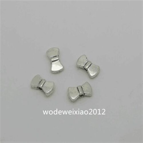 30pc Tibetan Silver Bowknot Spacer Beads Accessories Jewellery Making JP877