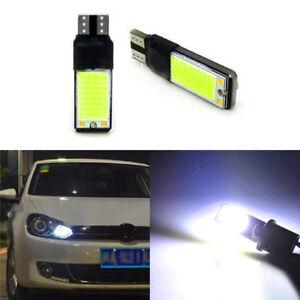 TOYOTA CAR LIGHT BULBS LED 501 194 168 W5W CANBUS 5 SMD XENON