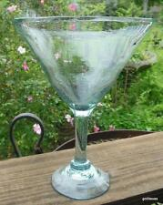 LARGE Handblown Margarita Martini Glass Mexico 16 oz.  8.5""