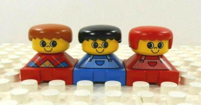 Lego Duplo Figure Girl Vintage 1980/'s