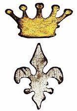Sizzix Mini Crown & Fleur Movers magnetic die set #657210 MSRP $15.99 Tim Holtz