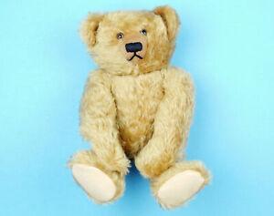 HAUT-MELTON-Jointed-Mohair-MR-BEAR-Edith-The-Lonely-Doll-Friend-TEDDY-BEAR