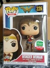 Funko Pop Heroes Wonder Woman Guantlet Limited Edition 226 Out In Hand
