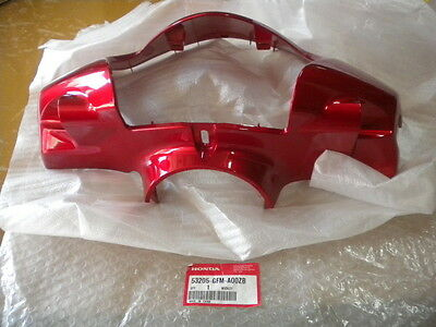 NOS Honda OEM Candy Lucid Red Front Cover Handle 2010 NHX110 53205-GFM-A00ZB