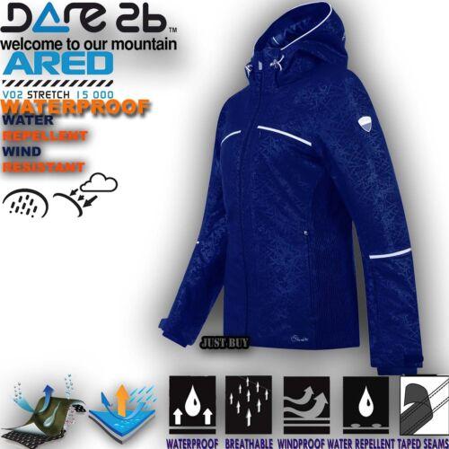 Insulated Snowboard Women Hoodie Jacket Ski Clematis Waterproof Recast Coat Padded Dare2b pY0qSwBx