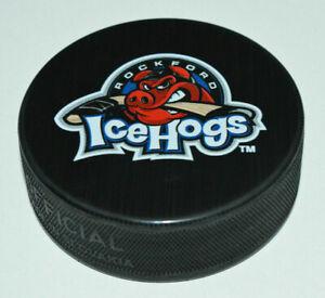 ROCKFORD-ICEHOGS-AHL-Hockey-SOUVENIR-PUCK-NEW-Chicago-Blackhawks-Farm-Team