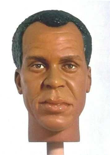 1 6 Custom Head Danny Glover Lt. Harrigan in Predator 2