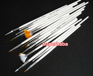 15-PCS-NAIL-ART-ACRYLIC-DESIGN-POLISH-BRUSH-DOT-PAINTING-TOOL-SET-PEN