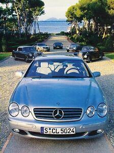 2000 mercedes cl600 review