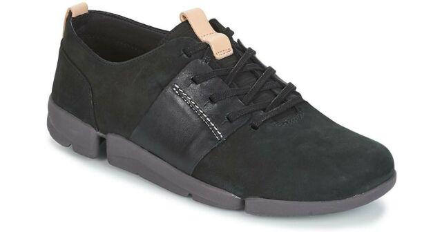Clarks Tri Nia - Black Leather (schwarz