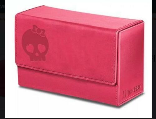 MTG Ultra Pro Force of Will Magic  DUAL PINK Flip Deck Box