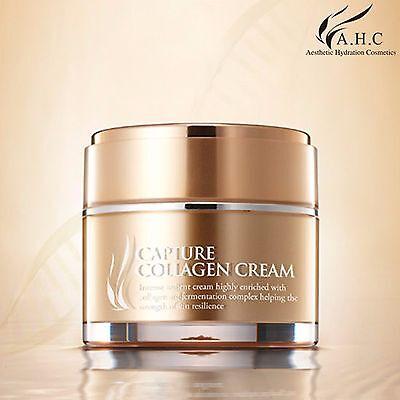 AHC Nourishing Capture Collagen Cream Whitening Wrinkle Care 1.69oz