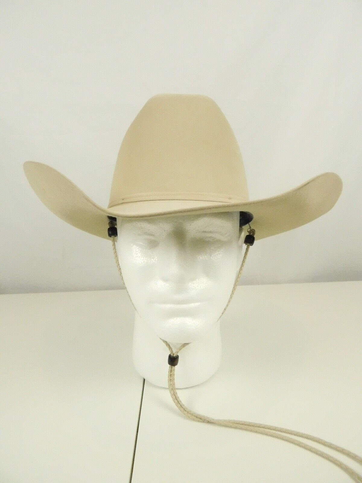 3e6d15ed7dd Stetson Beige Cowboy (multi) Ranch Tan 7r 4 Brim XXXXX Authentic X s ...