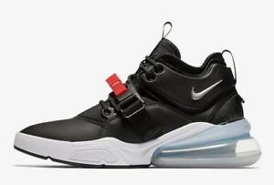 NIKE-AIR-FORCE-270-AH6772-001-BLACK-METALLIC-SILVER-WHITE-RED-LEATHER
