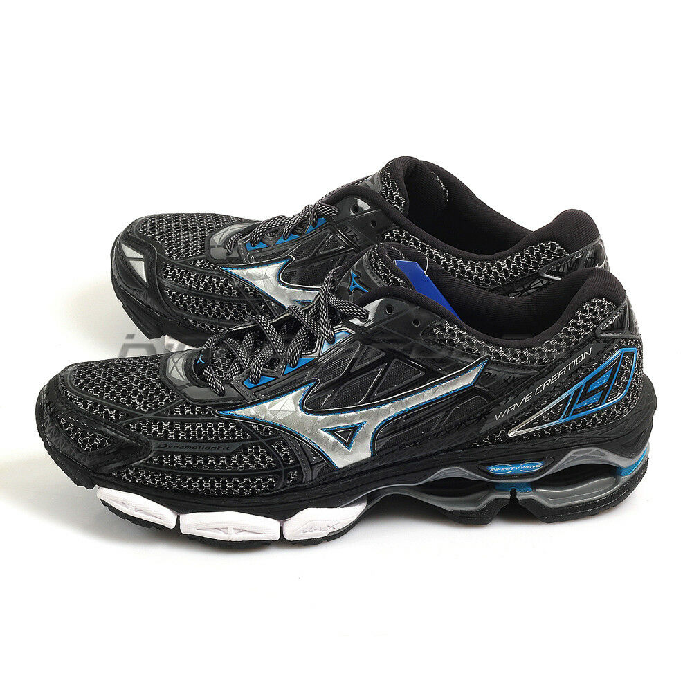 Mizuno Wave J1GC170105 Creation 19 Negro/Plata/Azul Zapatos Deportivos Expert 2018 J1GC170105 Wave 62d810