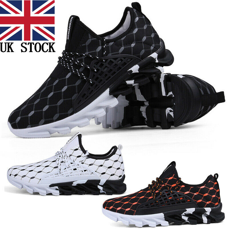 Mens Running Tennis Shoes Hiking Sneakers Fashion Sport Non Slip Casual Trainers
