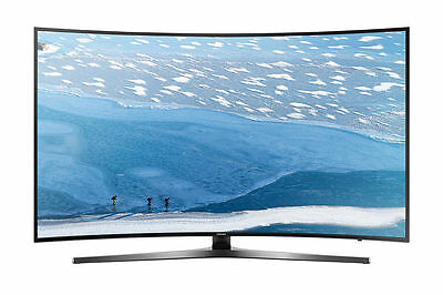 "SAMSUNG 65"" 65KU6500 4K SMART CURVED LED TV WITH 1 Year Seller Warranty --"