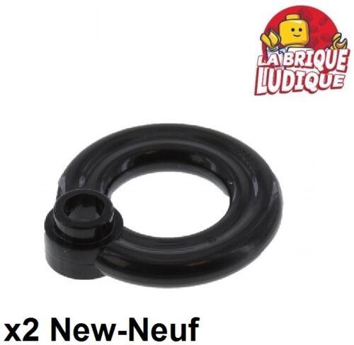 flotation ring schwarz/schwarz 30340 2x Minifig utensil Boje Rettungs Lego