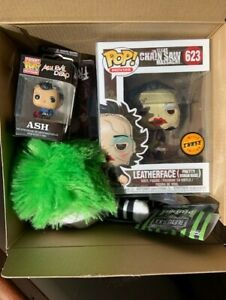 Horror-Mystery-Box-CHASE-Leatherface-Pretty-Woman-Mask-Funko-Pop-Vinyl-New-Box