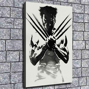 """12/""""x18/""""Wolverine Stick Figure HD Canvas Print Painting Home Decor room Wall Art"""