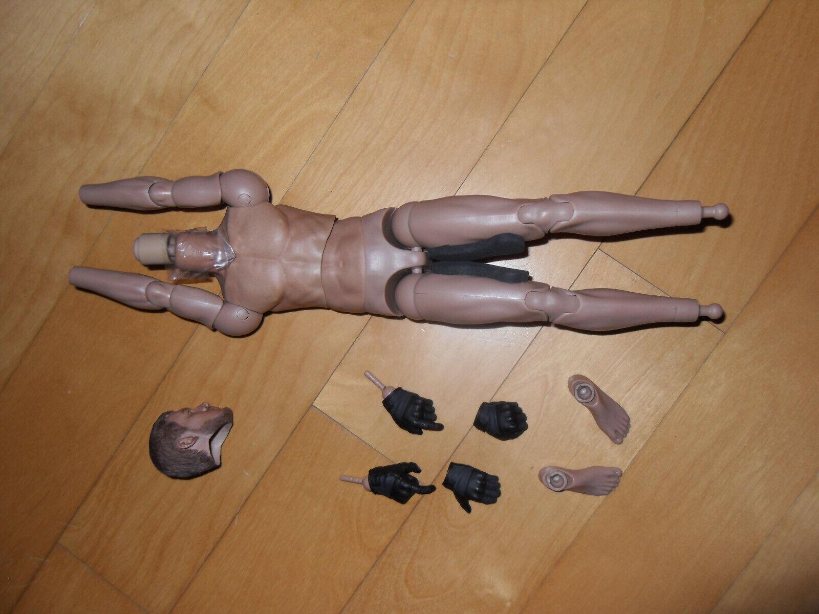 Dam Toys 1 6 escala 78059 8th Aniversario cuerpo desnudo con cabeza, manos y pies
