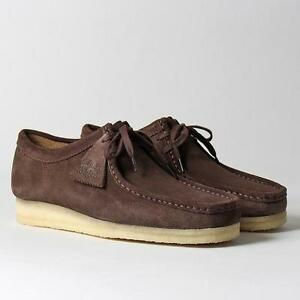 Us 9 G Uk 8 Casual Clarks Originals Mens ** Wallabee Dark Brown Suede