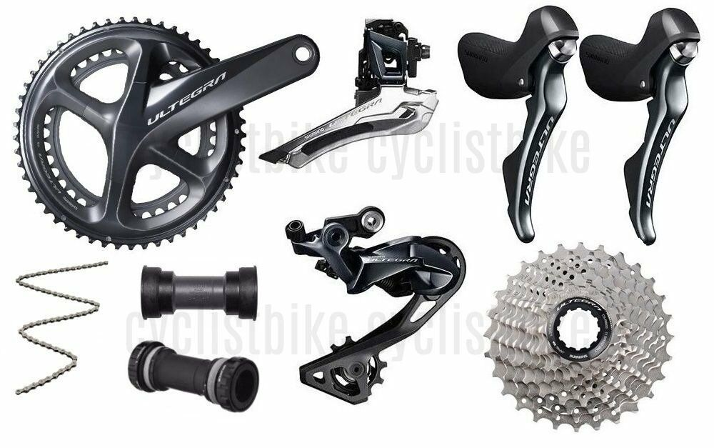 7pcs Shiuomoo Ultegra R8000 strada Bike 11 Speed Full Groupset 5034