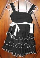 Lord And Taylor Girls Dress Black And White Size 2