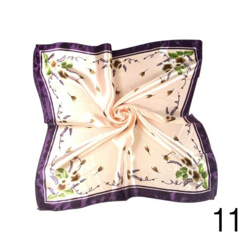 Women Head Neck  Hair Tie Classical Silk Satin Scarf Shawl Wrap-Kerchief HOT