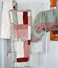 Winnie the Pooh Crib Classic Collection 4 Pc Boys Crib Bedding Set VINTAGE PATCH