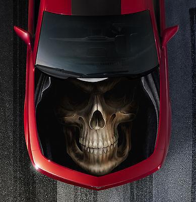 H20 Grim Reaper Skull Hood Wrap Wraps Decal Sticker Tint