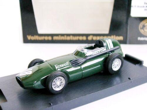 GP D/'ANGLETERRE STIRLING MOSS RARE VANWALL F1 1958 1//43