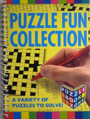 A5 Puzzle Anello vincolato divertente collezione book 63 wordsearch, cruciverba KRISS Kross -