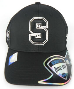STANFORD-CARDINAL-NCAA-BLACK-ON-BLACK-PREMIUM-FLEX-FIT-1-FIT-TOW-CAP-HAT-NWT