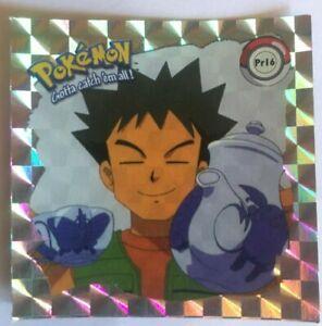 40 prism holo ultra rare new 1999 Sticker artbox pokemon raichu no
