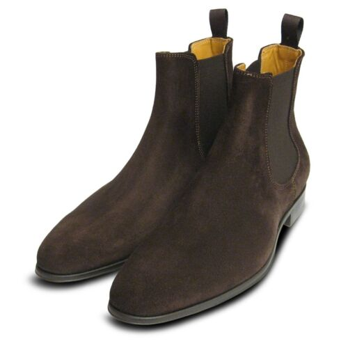 Suede Italian For Chelsea Men Boots Brown 0Aw5qxd0