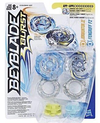 Beyblade Burst JORMUNTOR J2 /& FENGRIFF F2 Dual Pack D20//TS08 /& DD1//TA07 2017