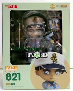 In-STOCK-Good-Smile-Detective-Conan-034-Heiji-Hattori-034-821-Nendoroid-Action-Figure