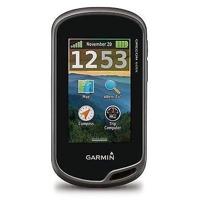 "New Garmin Oregon 600T 3"" Worldwide Handheld GPS w/ TOPO 100K MAPS 010-01066-10"