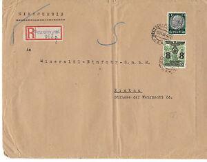Deutsche zones generalgouverment propre lettre recommandée à partir de pvzemysl avec MIF-ent sauberes Einschreiben ab Pvzemysl mit MiFafficher le titre d`origine CNJ5kITe-07163457-698979051