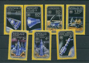 Hongrie-1975-Mi-3046-3052-A-Neuf-MNH-Espace-Astronautique-Espace