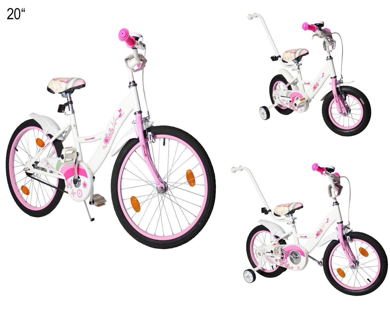 Kinderfahrrad in 12  16  20   für Mädchen Fahrrad mit Rücktrittbremse  B-Ware