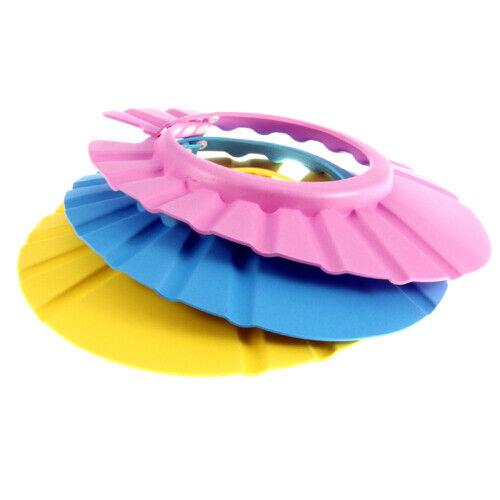 Kids Baby Child Adjustable Soft Waterproof Shield Shampoo Shower Bath Hat Cap