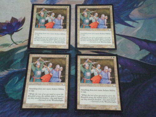 4x Playset MTG Magic the Gathering Complete Set of 4 x4 Cards Weatherlight U Pik
